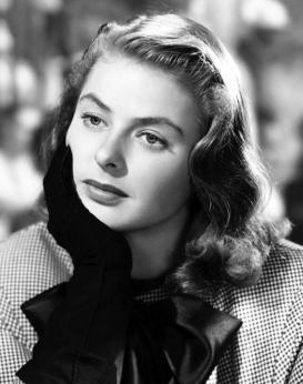 Ingrid Bergmans karriär började på Strandvägen i Stockholm.