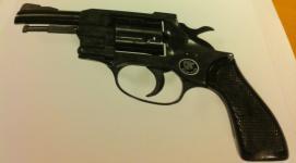 Pistol från kidnappningen